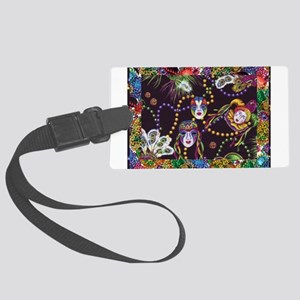 Best Seller Mardi Gras Large Luggage Tag