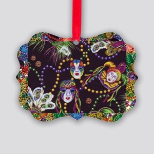 Best Seller Mardi Gras Picture Ornament