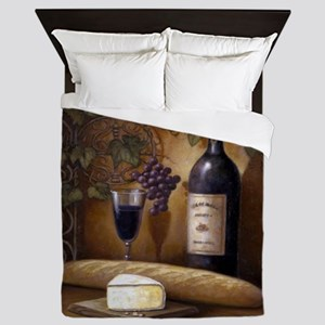 Wine Best Seller Queen Duvet