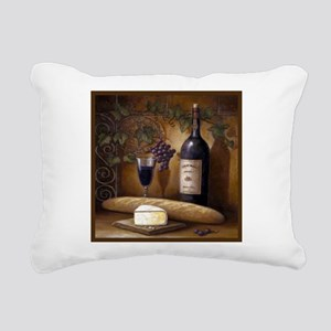 Wine Best Seller Rectangular Canvas Pillow