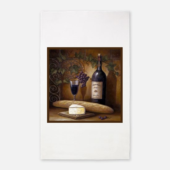 Wine Best Seller 3'x5' Area Rug