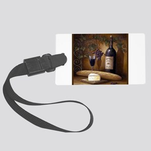Wine Best Seller Large Luggage Tag