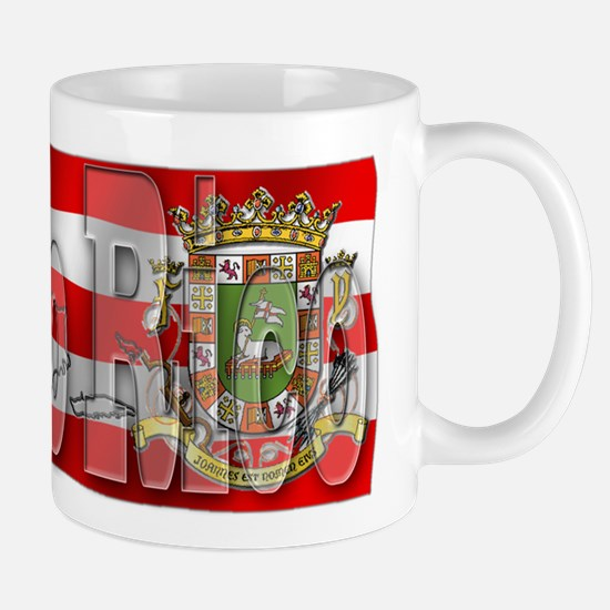 Silky Flag Puerto Rico Mug