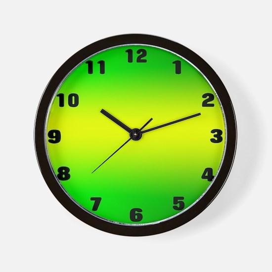 greenhorizon.jpg Wall Clock