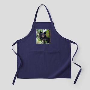 Baby Black Bear Apron (dark)
