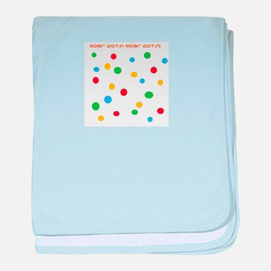 More Dots baby blanket