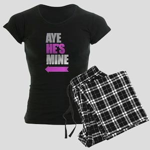 Aye He's Mine & Aye She's Mine Couples Design Paja