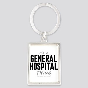 It's a General Hospital Thing Portrait Keychain