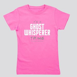 It's a Ghost Whisperer Thing Girl's Dark Tee