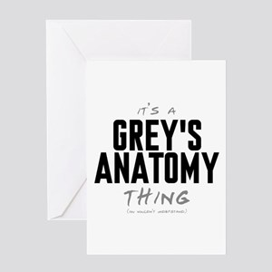 It's a Grey's Anatomy Thing Greeting Card