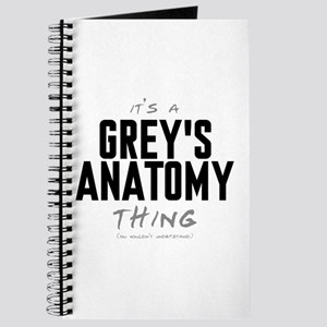 It's a Grey's Anatomy Thing Journal