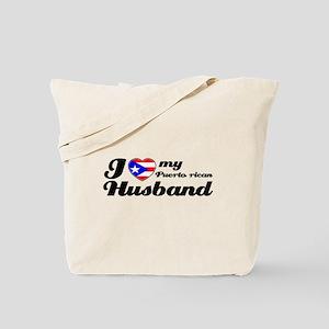 Puerto rican Husband Tote Bag