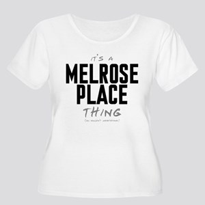 It's a Melrose Place Thing Women's Plus Size Scoop