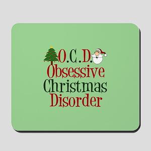Green Christmas Mousepad