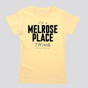 It's a Melrose Place Thing Girl's Tee