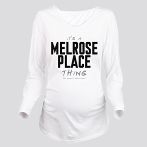 It's a Melrose Place Thing Long Sleeve Maternity T