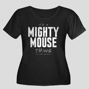 It's a Mighty Mouse Thing Women's Dark Plus Size S