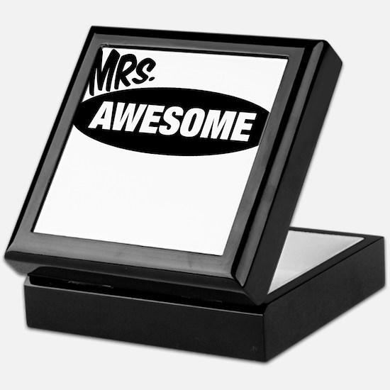 Mr. Awesome & Mrs. Awesome Couples Design Keepsake