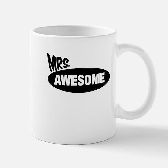 Mr. Awesome & Mrs. Awesome Couples Design Mugs