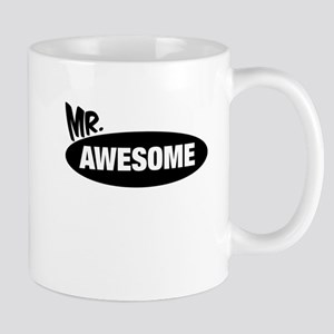 Mr. Awesome & Mrs. Awesome Couples Design Mugs
