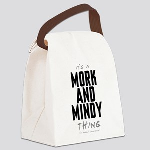 It's a Mork and Mindy Thing Canvas Lunch Bag