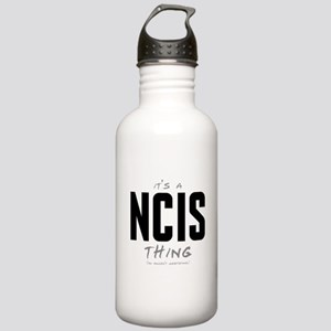 It's a NCIS Thing Stainless Water Bottle 1.0L