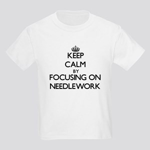 Keep Calm by focusing on Needle T-Shirt