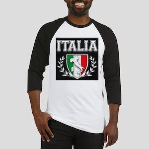 Vintage Italian Crest Baseball Jersey