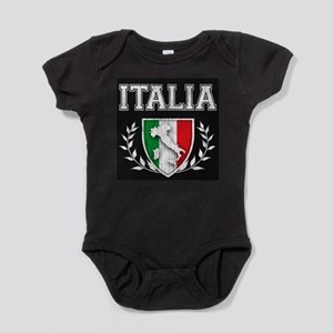 Vintage Italian Crest Baby Bodysuit