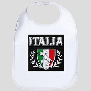 Vintage Italian Crest Bib