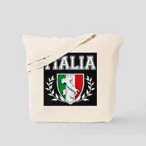 Vintage Italian Crest Tote Bag