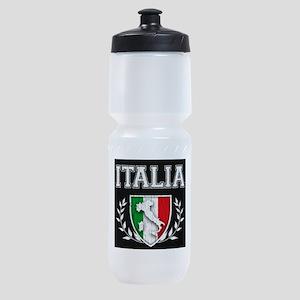Vintage Italian Crest Sports Bottle