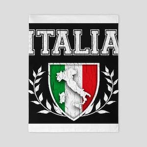 Vintage Italian Crest Twin Duvet