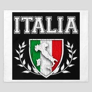 Vintage Italian Crest King Duvet