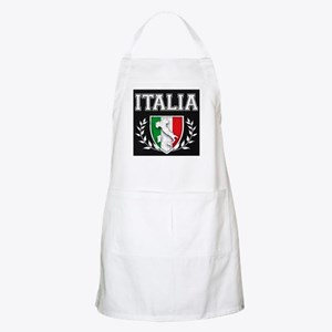 Vintage Italian Crest Apron