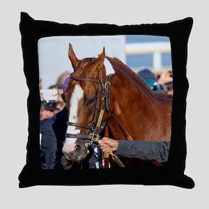 California Chrome Throw Pillow
