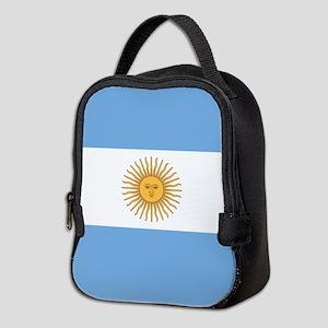 Argentina Flag Neoprene Lunch Bag