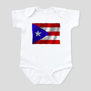Pure Flag Puerto Pico Infant Bodysuit