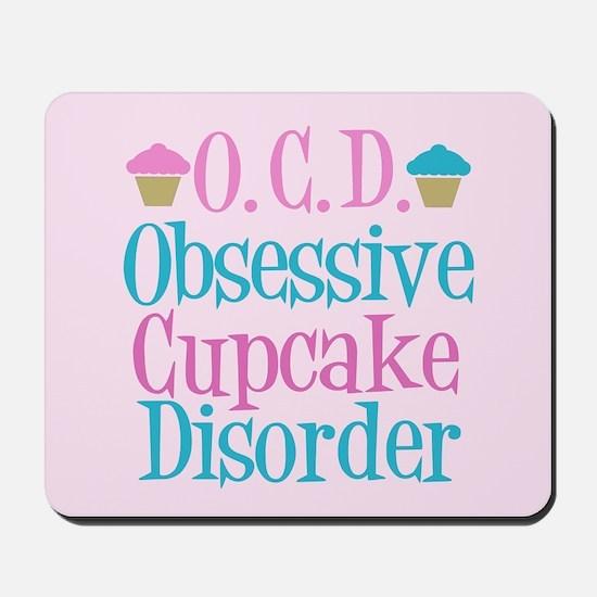 Pink Cupcake Mousepad