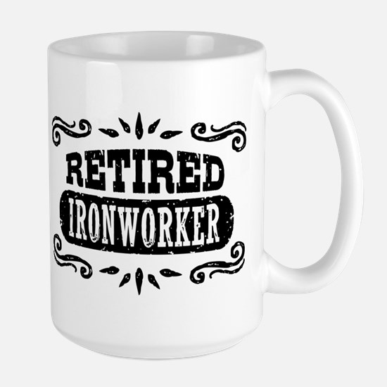 Retired Ironworker Mug