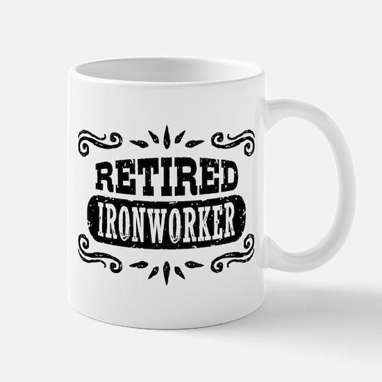 Retired Ironworker Mug