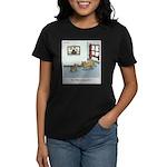 Who's chasing who? Women's Dark T-Shirt