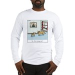 Who's chasing who? Long Sleeve T-Shirt