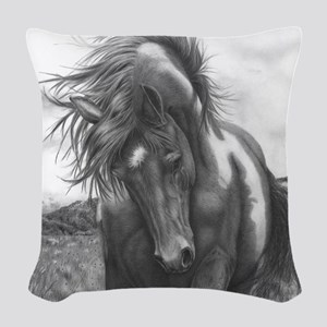 Sacred Stomping Grounds Woven Throw Pillow