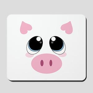 Pig Face Mousepad
