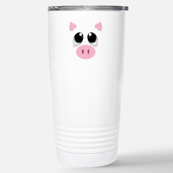 Pig Face Travel Mug
