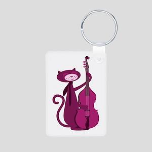 Bass Cat Keychains