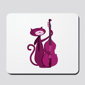 Bass Cat Mousepad