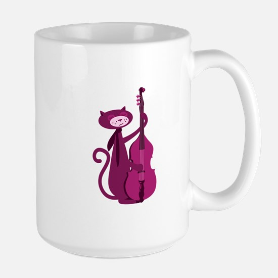 Bass Cat Mugs