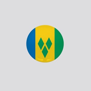 St Vincent Grenadines Flag Mini Button